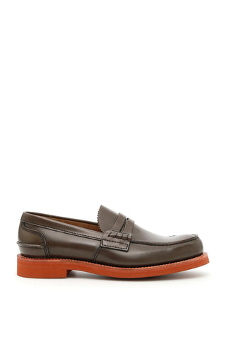Church's Pembrey Contrasting Sole Loafers