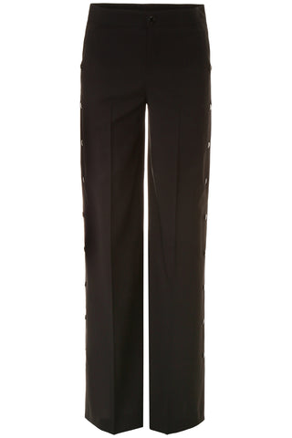 Red Valentino Side Buttoned Flared Trousers
