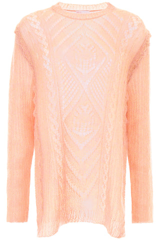 Red Valentino Perforated Knit Pullover2-R13