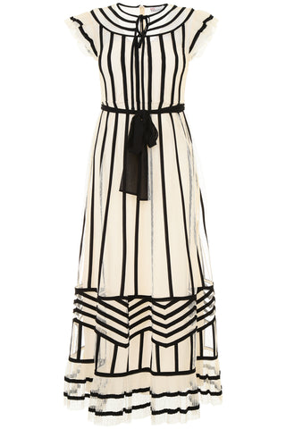 Red Valentino Contrast Ribbon Dress