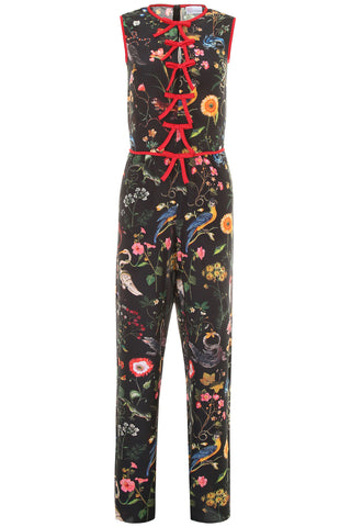 Red Valentino Floral Printed Jumpsuit
