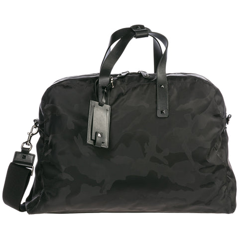 Valentino Camouflage Duffle Bag