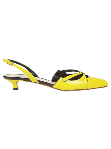 Francesco Russo Sling Back Sandals
