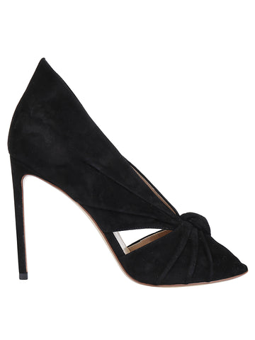 Francesco Russo Open Toe Pumps