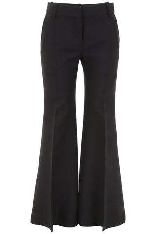 Valentino High-Waisted Flared Trousers