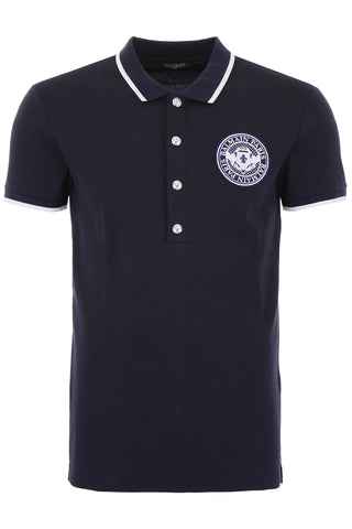 Balmain Logo Patch Polo Shirt