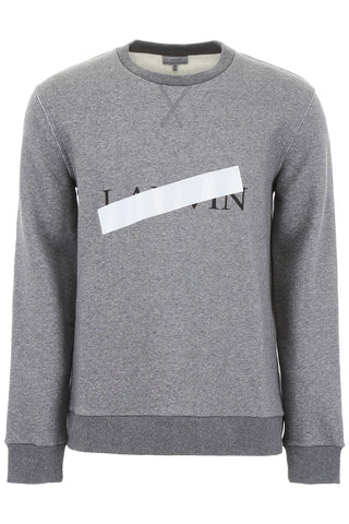 Lanvin Tape Logo Sweater