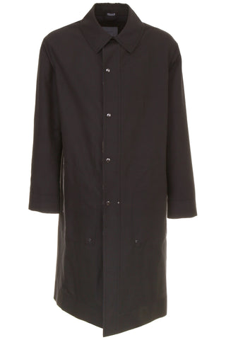 Lanvin Techno Wool Trench Coat