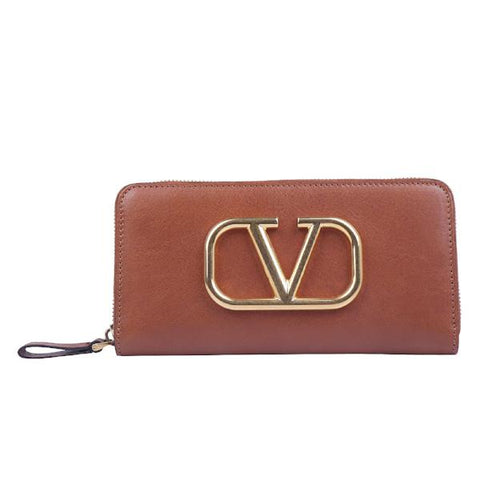 Valentino Zipped Logo Wallet