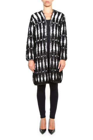 Lanvin Lurex Knitted Coat