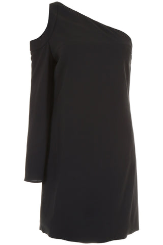 Lanvin Crepe One-Shoulder Dress