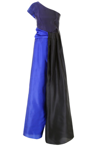Lanvin One-Shoulder Gown