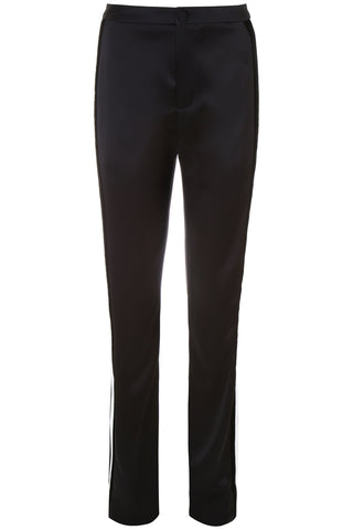 Lanvin Sanded Satin Trousers