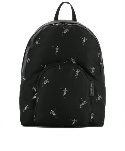 Alexander McQueen Skeleton Print Backpack