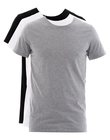 Balmain Three Pack Slim-Fit Distressed T-Shirt