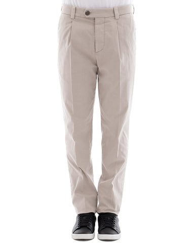 Brunello Cucinelli Cotton Blend Trousers