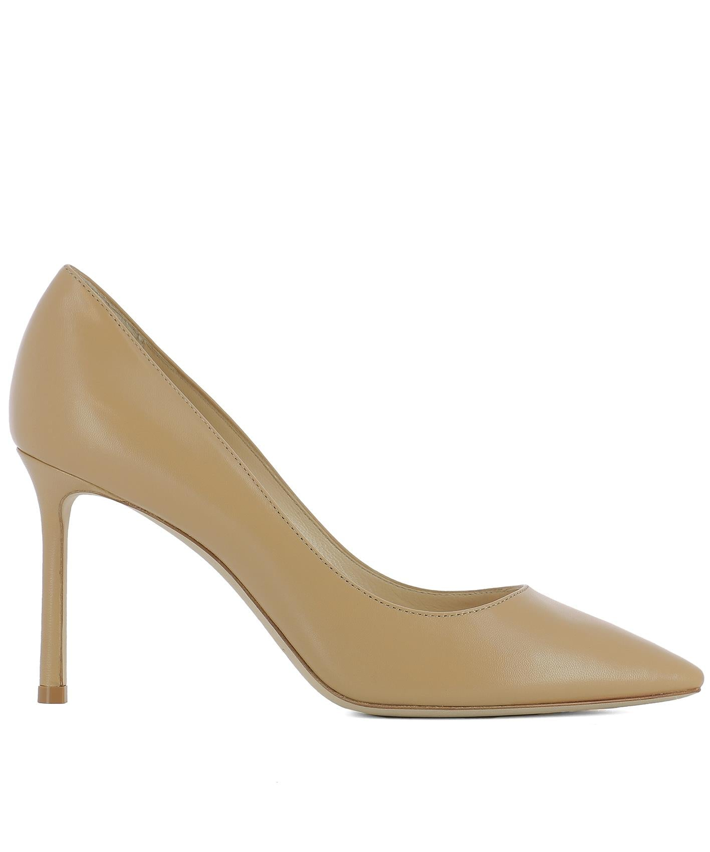 JIMMY CHOO ROMY 85 POINTED PUMPS