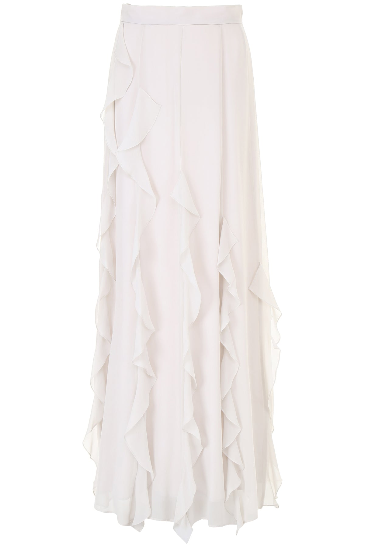 MAX MARA SERAGIN RUCHES MAXI SKIRT