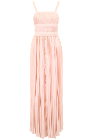 Ulla Johnson Draped Plissé Gown