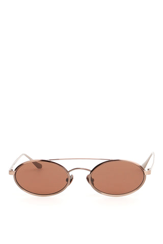 Self-Portrait Round Aviator Sunglasses