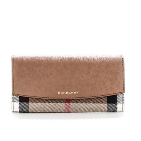 Burberry Check Logo Wallet