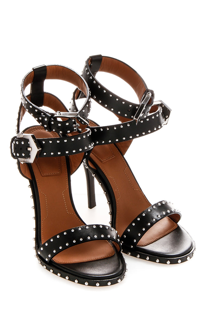 c787dcc082fa Givenchy Stud Embellished Buckled Ankle Strap Sandals – Cettire