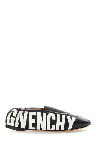 Givenchy Printed Leather Slippers