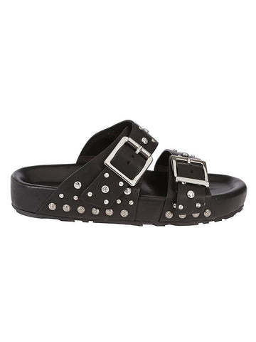Alexander McQueen Studded Buckle Sandals