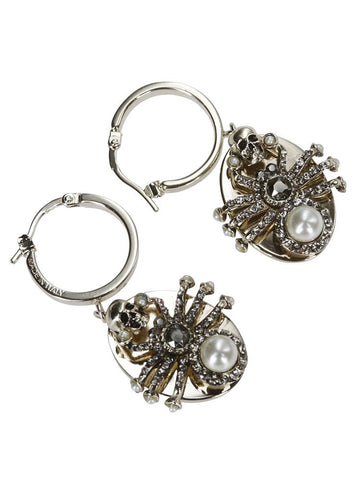 Alexander McQueen Embellished Earrings