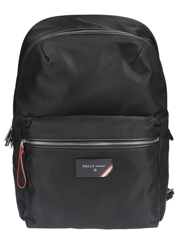 Bally Ferey Logo-Embossed Backpack