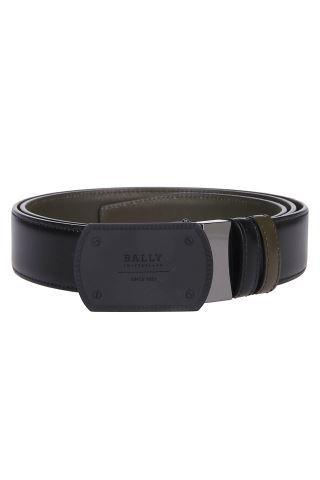 Bally Teller Logo Belt