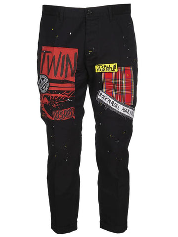Dsquared2 Logo Patch Trousers