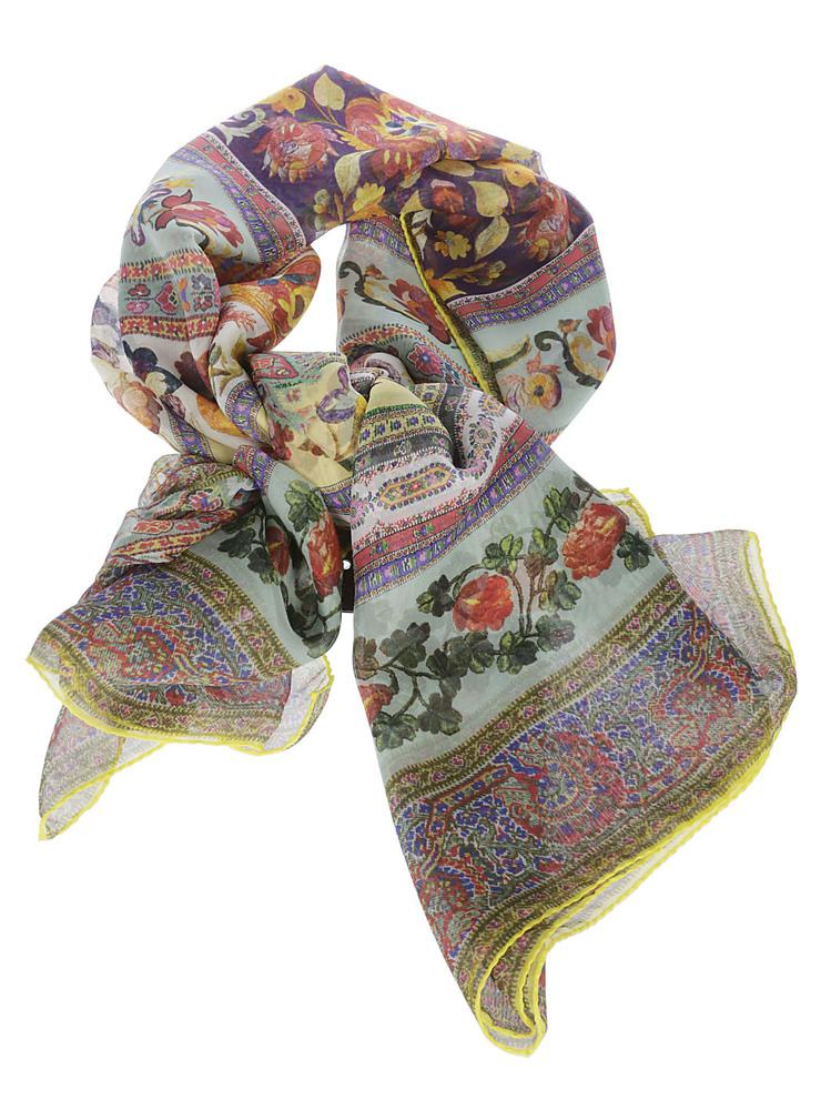 Etro Floral Print Scarf