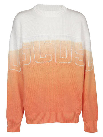GCDS Gradient Logo Knit Jumper