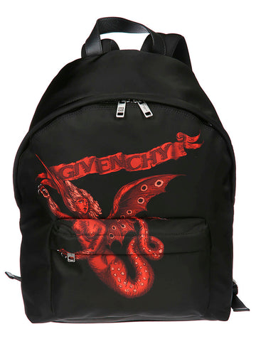 Givenchy Printed Zipped Backpack