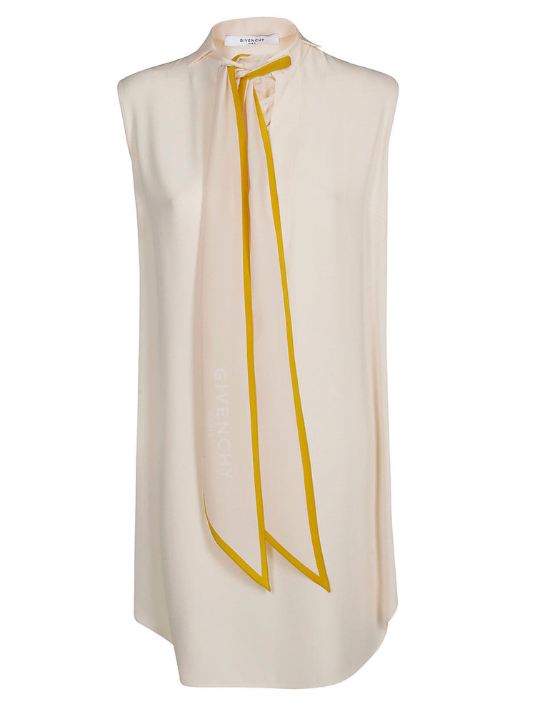 854d52aed01 Givenchy Tie-Neck Logo Dress – Cettire