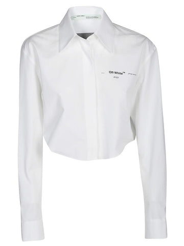 Off-White Arrows Cropped Shirt