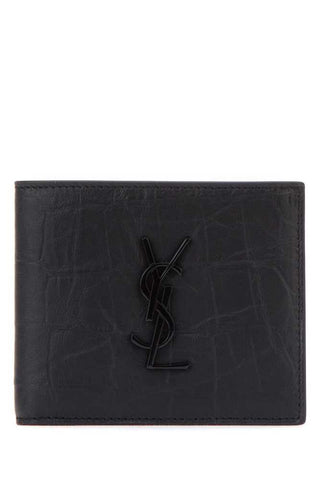 Saint Laurent Signature Monogram Wallet