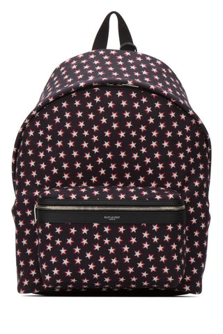 Saint Laurent All Over Start Print Backpack