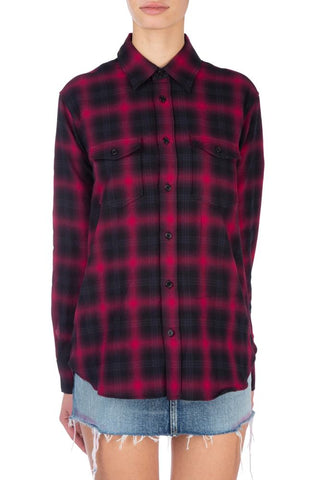 Saint Laurent Lumberjack Shirt