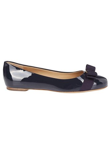 Salvatore Ferragamo Bow Detail Flat Shoes
