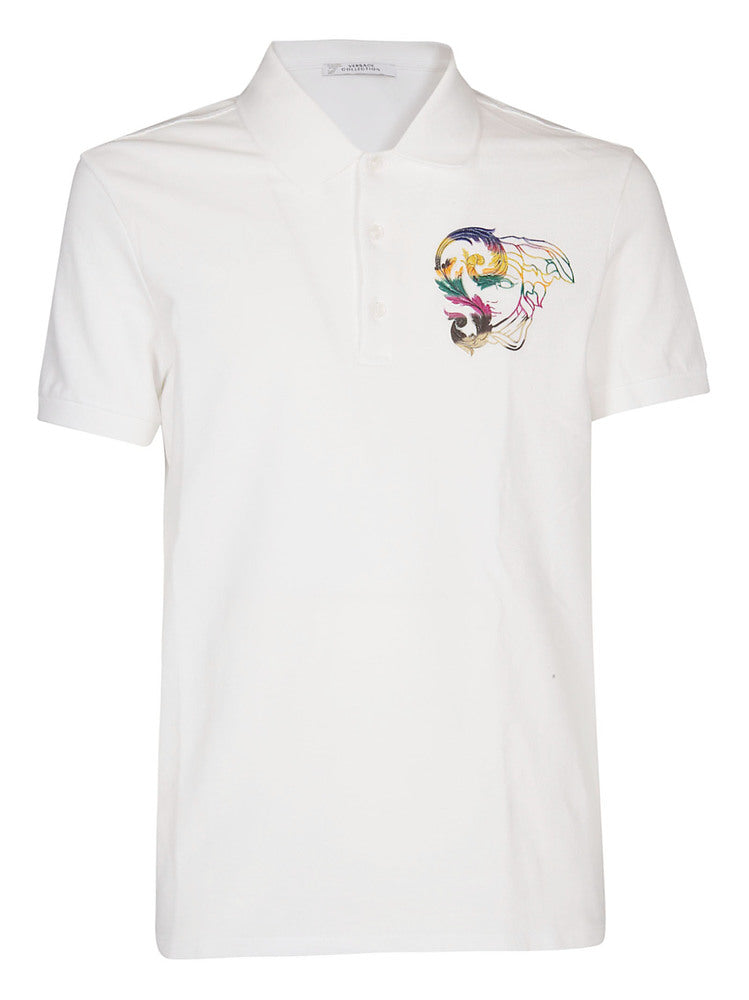 0b474f02be6 Versace Collection Medusa Polo Shirt – Cettire