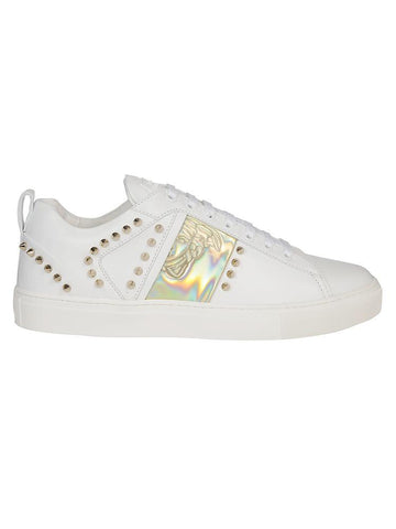 Versace Collection Stud-Detail Sneakers