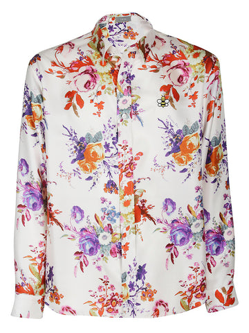 Dior Homme Floral Printed Shirt