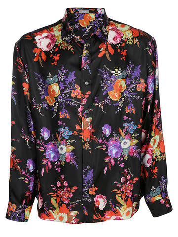 Dior Homme Printed Floral Shirt