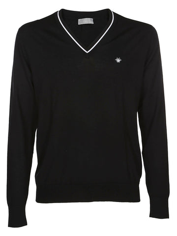 Dior Homme Bee Embroidered Sweater