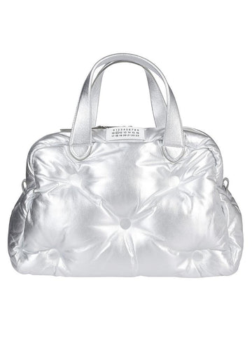 Maison Margiela Metallic Quilted Tote Bag