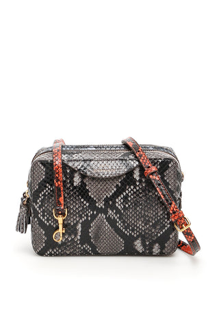 Anya Hindmarch Python Print Crossbody Bag