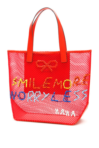 Anya Hindmarch Smile More Tote Bag