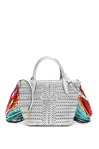 Anya Hindmarch Mini Fringed Shoulder Bag